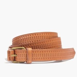 Madewell mayla geometric skinny belt